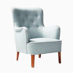Modell 1748 Sessel von Peter Hvidt für Fritz Hansen, 1940er