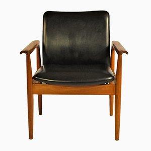 Chaise Modèle 209 Diplomat par Finn Juhl pour Cado, 1960s