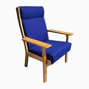 Vintage GE 181 A Sessel von Hans J. Wegner für Getama