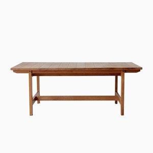 Tavolo basso in quercia di Aksel Dahl per KP Møbler, anni '60