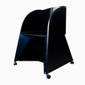 Sedie pieghevoli Matrix di Adriano & Paolo Suman per Giorgetti, set di 4