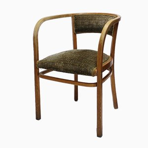 Antique Viennese Secessionist Bentwood Armchair by Otto Wagner for Thonet