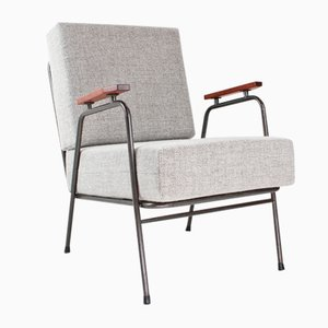 Mid-Century Industrial Dutch Lounge Chair from RAWI