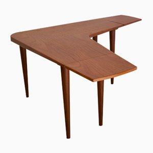 Table Basse Boomerang en Teck, 1960s