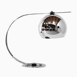 Italian Chrome Table or Desk Lamp, 1970s