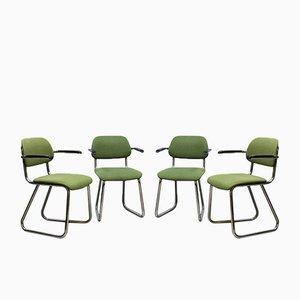 Vintage 212 Bürostühlen von Gispen, 4er Set