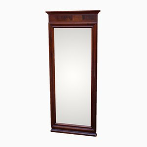 Christian the 8th Mirror in Mahogany, 1880s