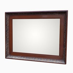 Mirror in Polished Mahogany, 1920s
