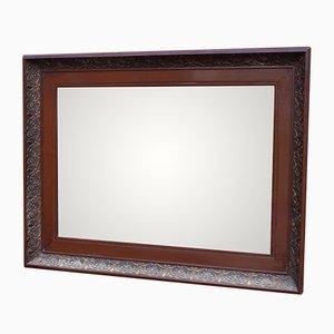 Spiegel mit Rahmen aus Mahagoni, 1920er