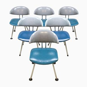 Vintage 7211 Mickey Dining Chairs by Martin de Wit, Set of 6