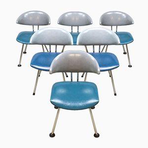 Vintage 7211 Mickey Esszimmerstühle von Martin de Wit, 5er Set