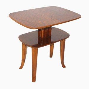 Table d'Appoint Vintage Viennoise à Deux Niveaux