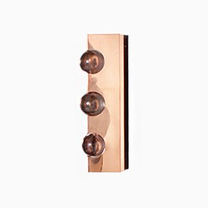 Mid-Century Copper Sconce by Werner Schou for Coronell Elektro