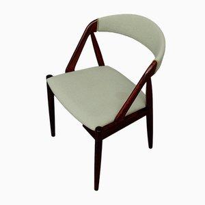 Chaises de Salon Modèle 31 en Palissandre et Tissu Vert Menthe par Kai Kristiansen pour Schou Andersen, 1960s, Set de 6