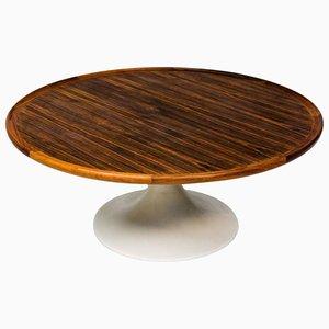 Table Basse en Contreplaqué de Coromandel, 1955
