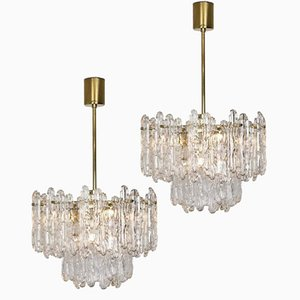 Chandeliers from Kinkeldey, 1970s, Set of 2
