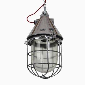 Industrielle Bunkerlampe von VEB EOW