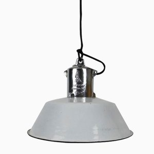 Lampe d'Usine Blanche de VEB EOW, Allemagne de l'Est