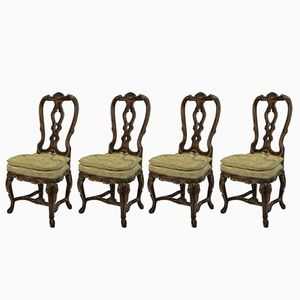 George II Chairs, 1760s, Set of 4