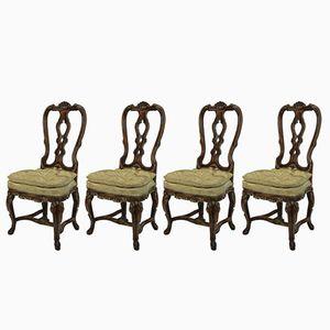 George II Stühle, 1760er, 4er Set