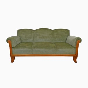 3-Seater Cherry Framed Sofa from Joseph Kreuzburg, 1930s