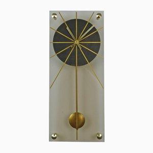 Horloge Murale en Plexiglas, Allemagne, 1960s