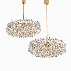 Lámparas de araña vintage de Bakalowits & Sohne. Juego de 2
