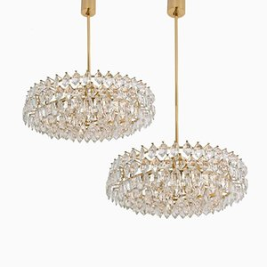Vintage Chandeliers by Bakalowits & Sohne, Set of 2