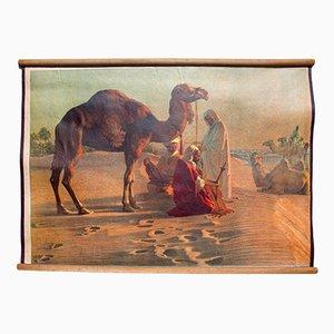 Litografía con escena en el desierto, 1918