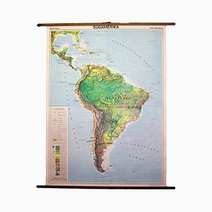 German South America Educational Chart, 1963