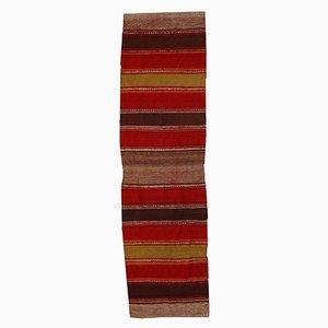 Tappeto Kilim vintage fatto a mano, Medio Oriente, anni '50