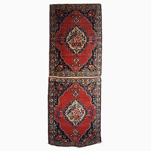 Alfombra de Oriente Medio antigua hecha a mano, años 10