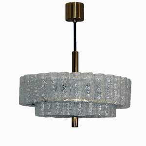 Glass Chandelier from Doria, 1960s