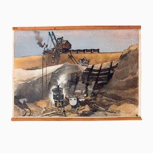 Mine Wall Chart, 1929