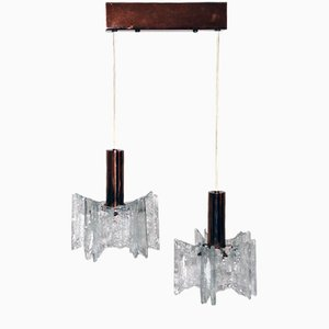 Lámpara colgante de Kalmar, años 60