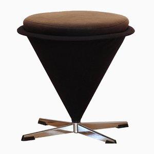 Tabouret Cone Vintage par Verner Panton