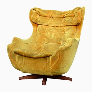 Vintage Statesman Swivel Egg Chair by Florence Knoll for Parker Knoll