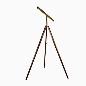 Vintage Brass Telescope from Van Cort
