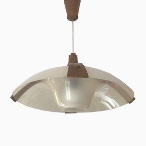 Skandinavische Deckenlampe, 1960er
