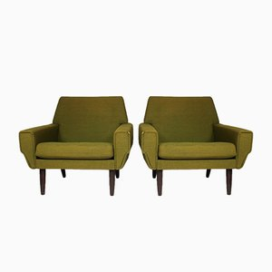 Mid-Century Danish Lounge Chair, Set of 2
