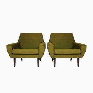 Mid-Century Danish Lounge Chair, Set of 2