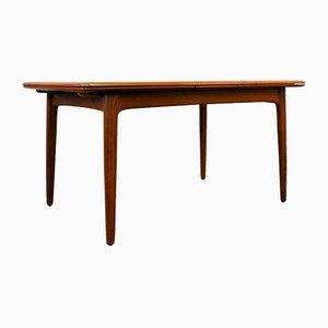 Table de Salle à Manger Mid-Century à Rallonge en Teck par Svend Aage Madsen pour K. Knudsen & Son