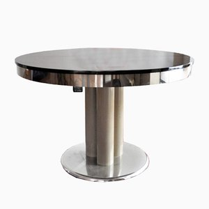 Black Dining Table, 1970s
