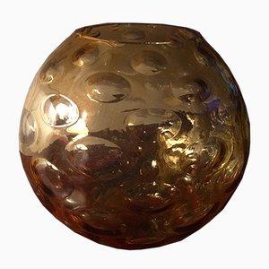 Umber Vase von Borske Sklo, 1960er