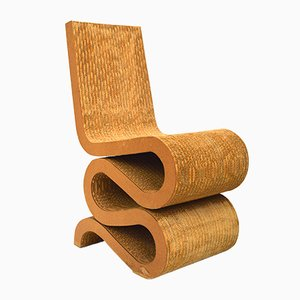 Chaise Wiggle Vintage par Frank Gehry pour Vitra