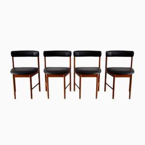Chaises de Salon No. 4103 en Teck de McIntosh, 1960s, Set de 4