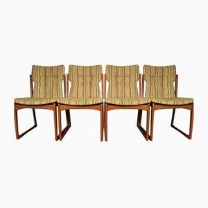 Mid-Century Esszimmerstühle von Vamdrup Stolefabrik, 1960er, 4er Set