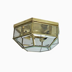 Octagonal Wall or Ceiling Light, 1974