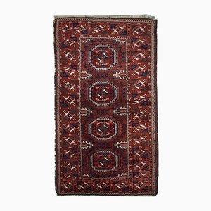 Antiker Handgemachter Afghanischer Baluch Teppich, 1900er