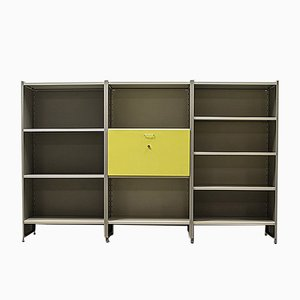 Mid-Century Dutch Modernist Steel Cabinet by Andre Cordemeijer for Gispen